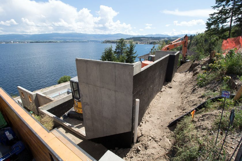 Lakefront Build – #3 A Strong Foundation