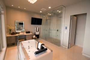 Your Average Master Suite Today May Just Have A Simple Shower U2013 But Even  That Isnu0027t So Simple. Will That Shower Have Glass Doors, Or Use A Curtain?  Will It ...